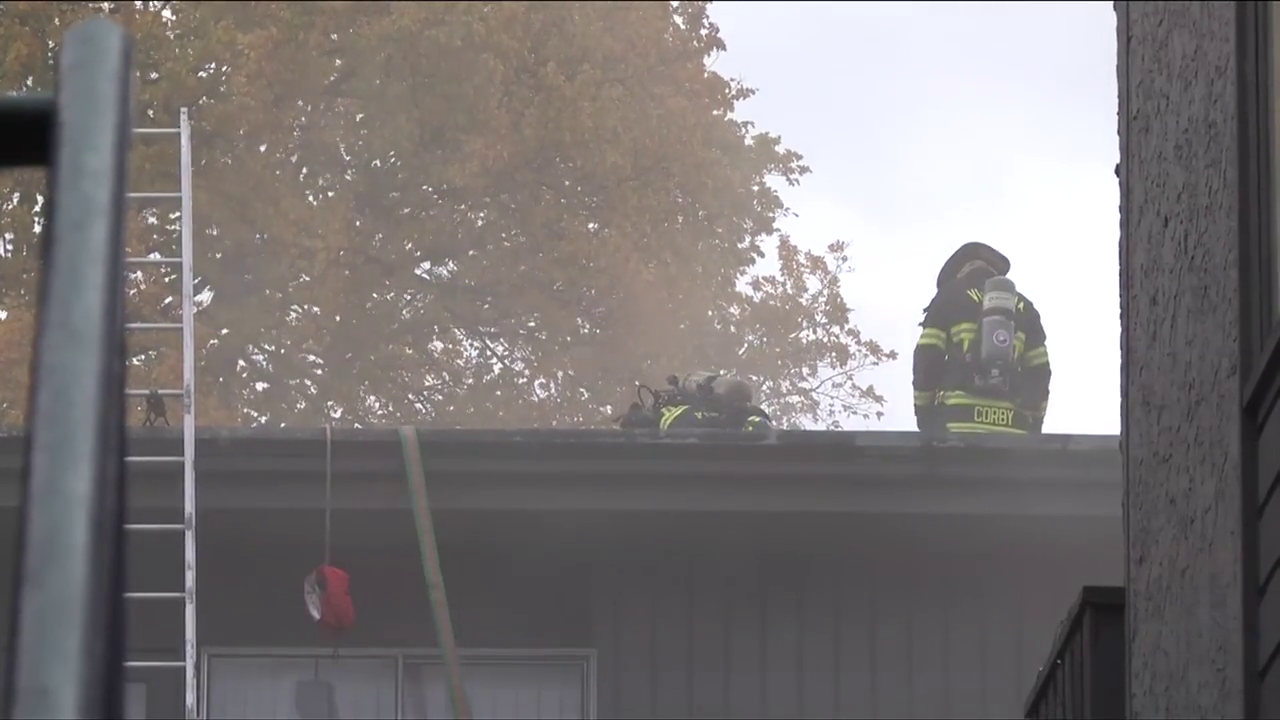 """""""There was just this loud boom"""": One dead in James Bay apartment building fire"""